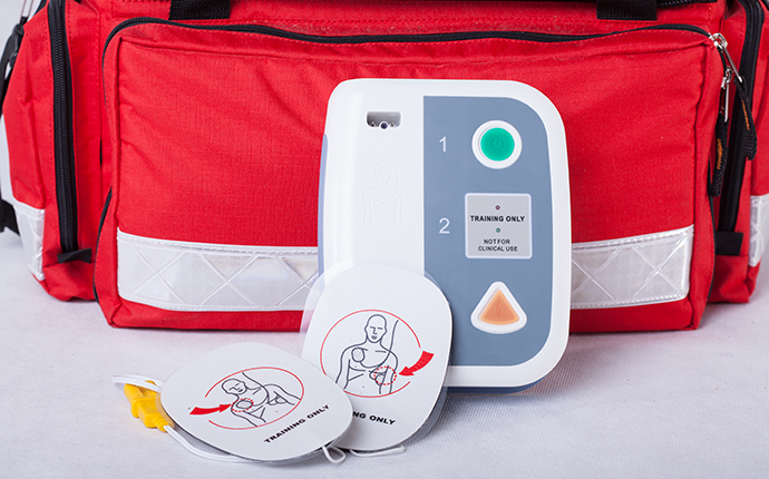 An automated external defibrillator