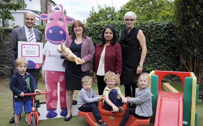 Millie's Mark Scotland launch at The Orchard Nursery